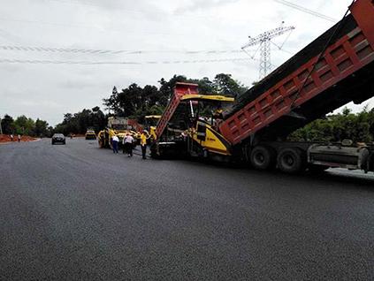 道路施工案例展示